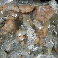 Chabazite Heulandite Laumontite Prehnite & Quartz