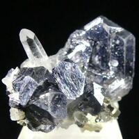 Galena Rock Crystal & Pyrite