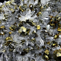 Chalcopyrite Pyrite Baryte Dolomite & Quartz