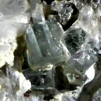 Fluorapatite On Quartz