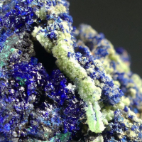 Mimetite On Azurite