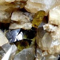 Elbaite Cassiterite Orthoclase & Quartz