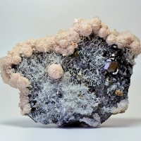 Rhodochrosite & Sphalerite