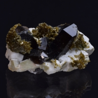 Stilbite Smoky Quartz & Feldspar