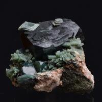 Apophyllite Heulandite & Celadonite