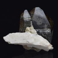 Smoky Quartz & Clinozoisite