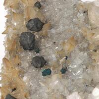 Bornite & Calcite