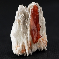 Hessonite On Diopside