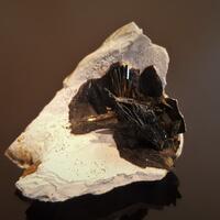 Vivianite In Clam Shell