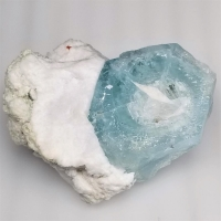 Aquamarine With Feldspar