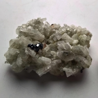 Calcite With Hematite & Rutile
