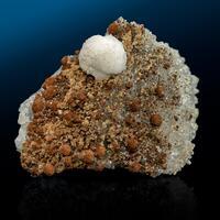 Calcite Siderite & Quartz