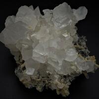 Calcite On Sphalerite Galena & Quartz With Dolomite