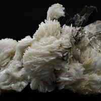 Topaz With Elbaite Inclusions & Elbaite On Cleavelandite