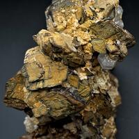 Siderite Fluorapatite Limonite & Rubellite