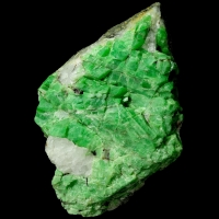 Emerald & Biotite On Quartz