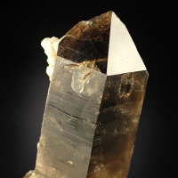 Smoky Quartz Epididymite & Microcline