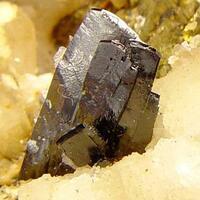 Ferberite Chalcopyrite & Quartz