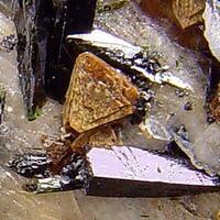 Pyrochlore On Feldspar