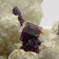 Fluorite & Apatite On Quartz