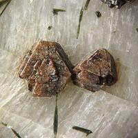 Pyrochlore Epididymite On Feldspar
