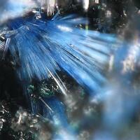 Tennantite Psm Azurite & Linarite