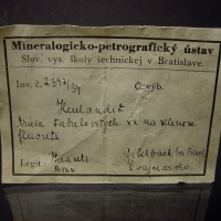 Heulandite-Ca On Fluorite