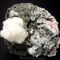 Arsenopyrite & Rhodochrosite & Calcite