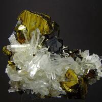 Chalcopyrite & Quartz