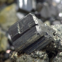 Bournonite Arsenopyrite & Sphalerite