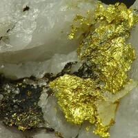 Petzite & Gold
