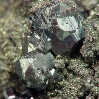 Pyrargyrite & Safflorite