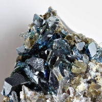 Lazulite With Wardite & Quartz