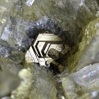 Pyrrhotite Siderite & Calcite