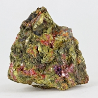 Getchellite With Orpiment & Realgar