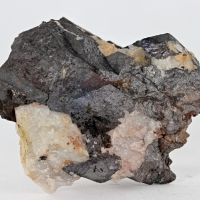 Wolframite With Quartz