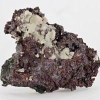 Cuprite With Calcite