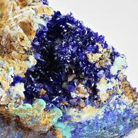 Dundasite With Azurite