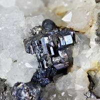 Bournonite With Quartz
