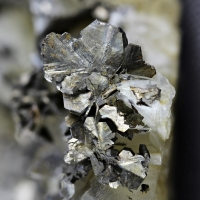 Pyrrhotite With Siderite & Quartz