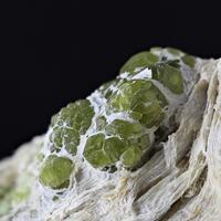 Demantoid With Asbestos