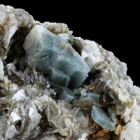 Adularia With Chlorite Inclusions