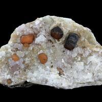 Rhodochrosite With Fairfieldite