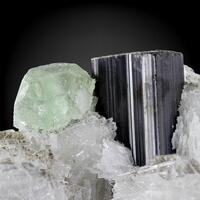 Schorl With Fluorite