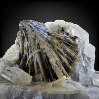 Stibnite With Baryte