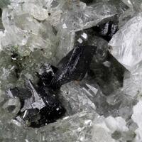 Babingtonite With Quartz