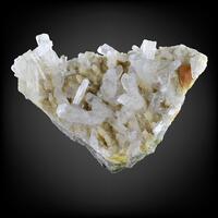 Celestine With Native Sulphur