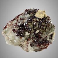 Sphalerite With Fluorite