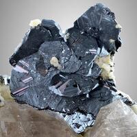 Hematite With Rutile On Quartz