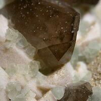 Fluorite Feldspar & Smoky Quartz